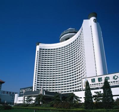 涂料招商 北京银都中心,高级弹性外墙漆、超级五合一内墙漆 案例